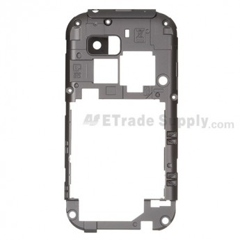 OEM LG myTouch Q, LG C800 D Side Housing without Camera Lens ,Gray