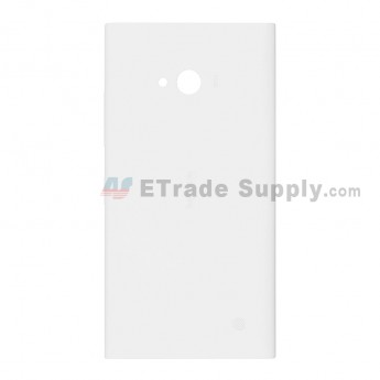 OEM Nokia Lumia 730 Dual SIM Battery Door - White - With Nokia Logo Only (7)