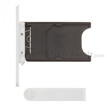 OEM Nokia Lumia 800 SIM Card Tray and Charging Port Cover ,White