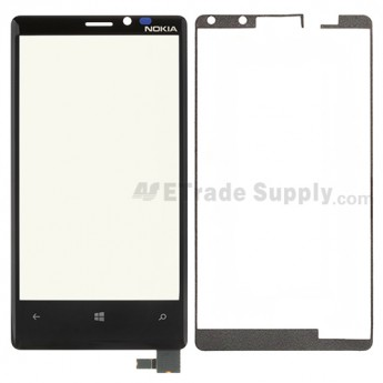 OEM Nokia Lumia 920 Digitizer Touch Screen with Adhesive ,Without Carrier Logo