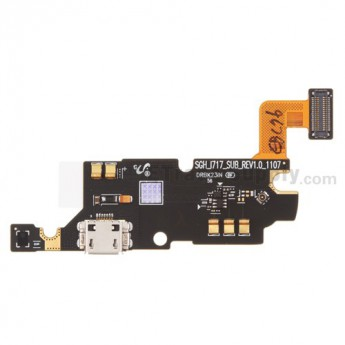OEM Samsung Galaxy Note SGH-I717 Charging Port Flex Cable Ribbon ,Rev 1.0