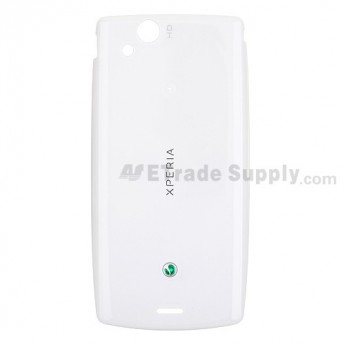 OEM Sony Ericsson Xperia Arc S LT18i Battery Door ,White