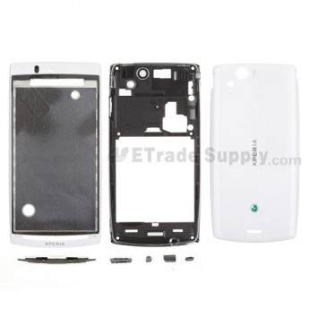 OEM Sony Ericsson Xperia Arc S LT18i Housing ,White