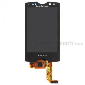 OEM Sony Ericsson Xperia SK17i Mango LCD Screen and Digitizer Assembly ,Black