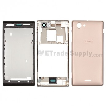 OEM Sony Xperia J ST26i Housing ,Golden