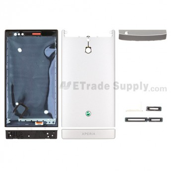 OEM Sony Xperia P LT22i Complete Housing ,Silver