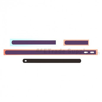 OEM Sony Xperia Z L36h Side Rails ,Purple