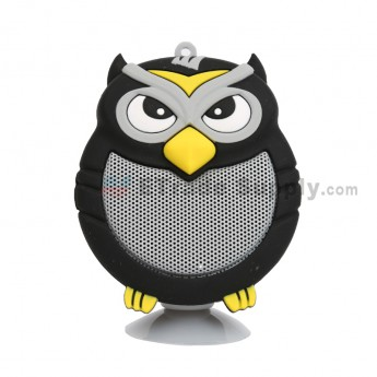 Portable Owl Wireless Bluetooth Speaker - Black (1)