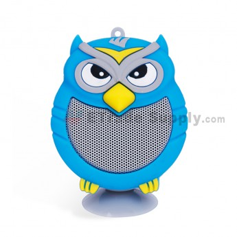 Portable Owl Wireless Bluetooth Speaker - Blue (4)