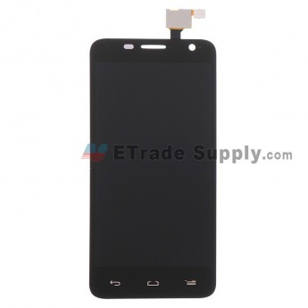 Replacement Part for Alcatel One Touch Idol Mini OT-6012 LCD Screen and Digitizer Assembly - Black - Without Any Logo - R Grade (1)