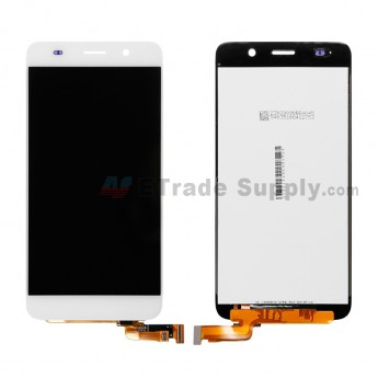 Replacement Part for Huawei Honor 4A LCD Screen and Digitizer Assembly - White - Without Any Logo - A Grade (1)