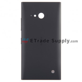 Replacement Part for Nokia Lumia 730 Dual SIM Battery Door with Wireless Charging Coil - Black - Nokia Logo - A Grade (3)