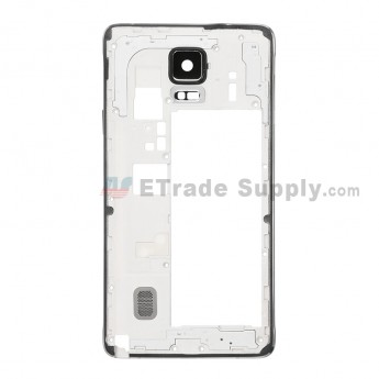 Replacement Part for Samsung Galaxy Note 4 SM-N910A Rear Housing - Black - A Grade (1)