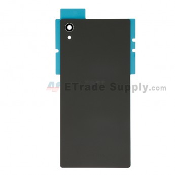 Replacement Part for Sony Xperia Z5 Battery Door - Black - Sony and Xperia Logo - A Grade (6)