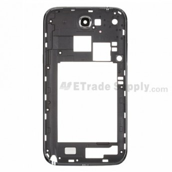 For Samsung Galaxy Note 2 SGH-i317/SGH-T889 Rear Housing Replacement - Gray - Grade S+