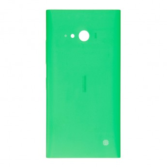 For Nokia Lumia 730 Dual SIM Battery Door Replacement - Green - With Logo - Grade S+