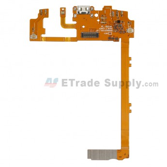 For LG Nexus 5 D820 Charging Port Flex Cable Ribbon Replacement - Black - Grade S+