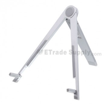 For Apple iPad 2, iPad Premium Kickstand - Silver - Grade R