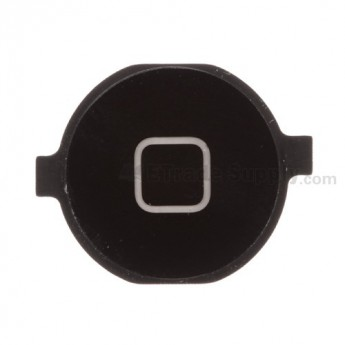 For Apple iPhone 3G, 3GS Home Button Replacement - Black - Grade R