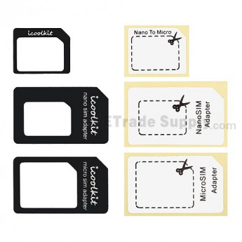 For Apple iPhone 5 Micro SIM Card Adapter Replacement - Grade R