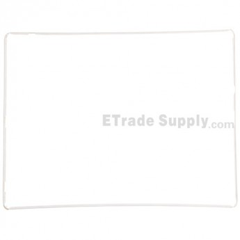 For Apple iPad 2 Digitizer Frame with Adhesive Replacement - White - Grade R