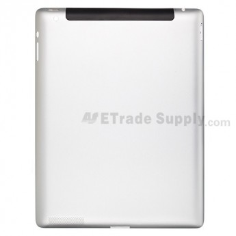 For Apple iPad 2 Rear Housing without Logo Replacement  (Wifi Plus 3G Version) - Without Capacity Icon - Grade R
