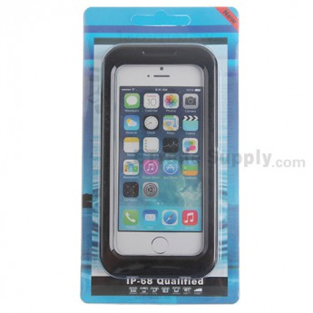 For Apple iPhone 4, iPhone 4S, iPhone 5 Detachable Waterproof Protective Case - Black - Grade R