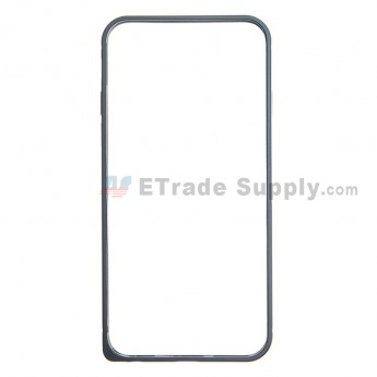 For Apple iPhone 6 Aluminum Protective Frame - Black - Grade R
