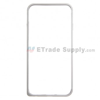 For Apple iPhone 6 Aluminum Protective Frame - Silver - Grade R