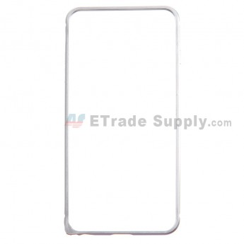 For Apple iPhone 6 Plus Aluminum Protective Frame - Silver - Grade R