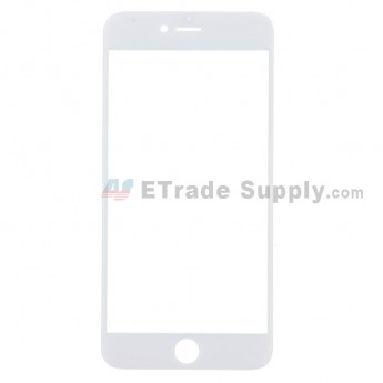 For Apple iPhone 6 Plus Glass Lens Replacement - White - Grade R