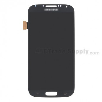 For Samsung Galaxy S4 GT-I9500/I9505/I545/L720/R970/I337/M919/I9502 LCD Screen and Digitizer Assembly Replacement - Black - With Logo - Grade S+