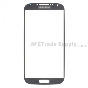 For Samsung Galaxy S4 GT-I9500/I9505/I545/L720/R970/I337/M919/I9502 Glass Lens Replacement - Black - Grade R