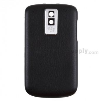 For BlackBerry Bold 9000 Battery Door Replacement - Black - Grade R