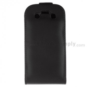 For BlackBerry Bold 9700 Leather Case with Hidden Buckle - Grade R