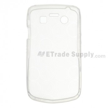 For BlackBerry Bold 9700 Soft Crystal Case - Red - Grade R
