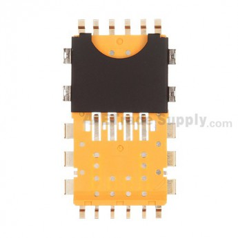 For BlackBerry Bold Touch 9900, 9930 SIM Card Reader Contact Repalcement - Grade R