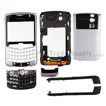 For Blackberry Curve 8330 Housing Replacement - White - Grade R