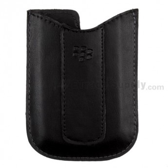 For Blackberry Curve 8330 Leather Case - Grade R