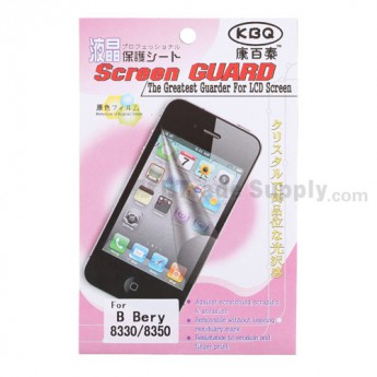 For BlackBerry Curve 8350i Screen Protector - Grade R
