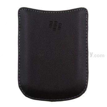 For BlackBerry Curve 8520/8530 Leather Case - Grade R