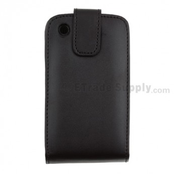 For BlackBerry Curve 8520/8530 Leather Case with Hidden Buckle - Grade R