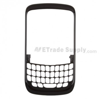 For BlackBerry Curve 8520 Front Housing Replacement - Light Blue - Grade R