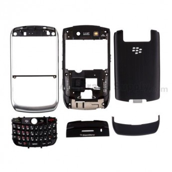For BlackBerry Curve 8900 Complete Housing Replacement ,Silver - Grade R