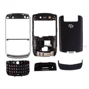 For BlackBerry Curve 8900 Housing Replacement - White - Grade R