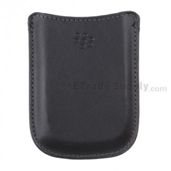 For BlackBerry Curve 8900 Leather Case - Grade R