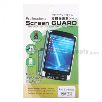 For BlackBerry Torch 9800 Screen Protector - Grade R