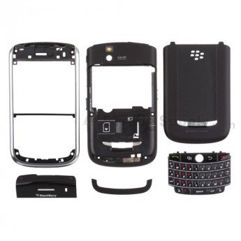 For BlackBerry Tour 9630 Complete Housing Replacement ,Black - Grade R