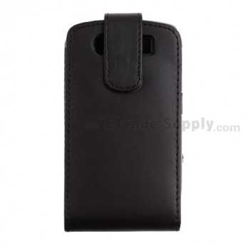 For BlackBerry Tour 9630 Leather Case - Grade R