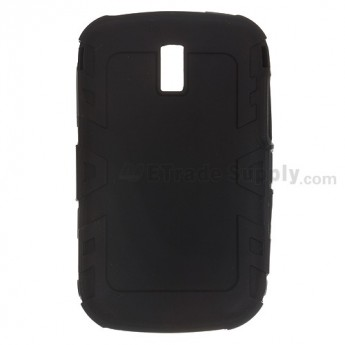 For BlackBerry Bold 9000 Silicone Skin - Black - Grade R